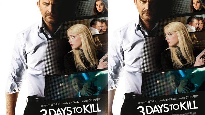 Sinopsis 3 Days To Kill, Agen CIA Melindungi Keluarga dari Teroris, Besok 23 September Trans TV