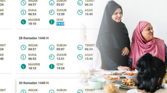 Jadwal Imsak, Buka Puasa & Waktu Sholat Jumat 31 Mei 2019 Bandung, Malang, Pekanbaru & Denpasar