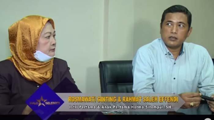 Tangis Pilu Rosmawaty, Anaknya Tak Diakui Hotma Sitompul, hingga Harus Biayai Seorang Diri