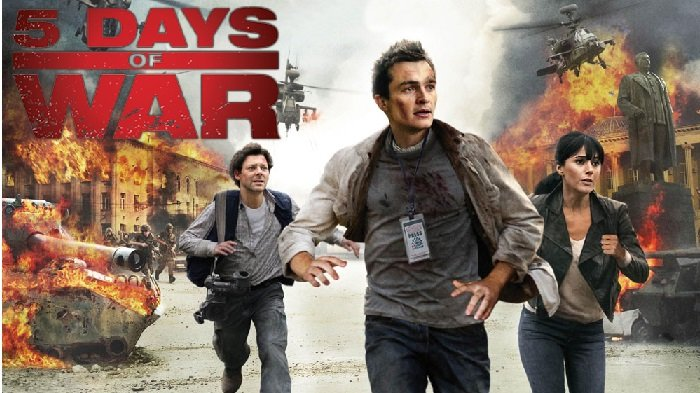 Sinopsis Film 5 Days of War Hari Ini Sabtu 16 Maret 2019 Trans TV 21.30 WIB, Wartawan dalam Perang