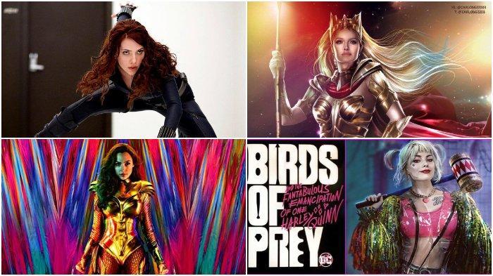 7 Film Superhero Marvel & DC Tayang Tahun 2020, Wonder Woman 1984, Black Widow, The Eternals