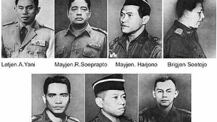 Kisah 7 Perwira TNI yang Jadi Korban G30S, Detik-detik Penculikan di Rumah hingga Pembuangan Jenazah