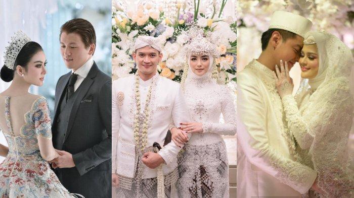 7 Viral Pernikahan Artis Sepanjang 2019: Syahrini, Cut Meyriska, Tania Nadira hingga Citra Kirana