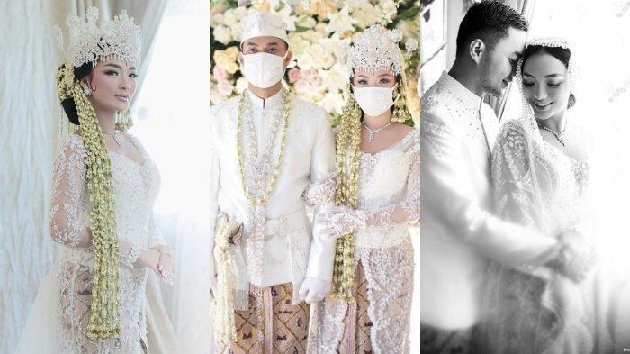 8 foto pernikahan Zaskia Gotik dan Sirajuddin Mahmud
