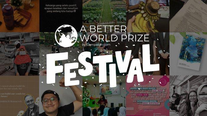 Masuki New Normal, Anak Muda Indonesia Bisa Ikut Aksi Sosial Lewat 'A Better World Prize Festival'
