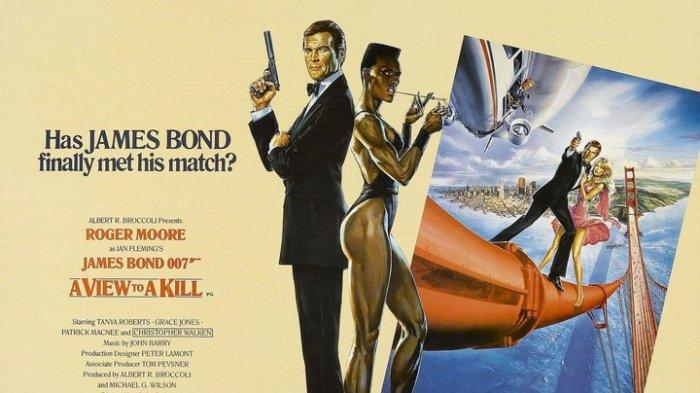 Sinopsis A View to a Kill, James Bond Menyelidiki Chip Silikon Milik Soviet, Saksikan Malam Ini