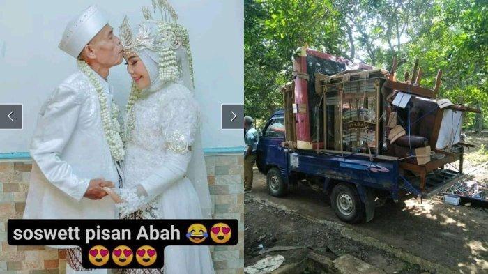 Abah Sarna, kakek 71 tahun yang nikahi Noni, gadis berusia 18 tahun