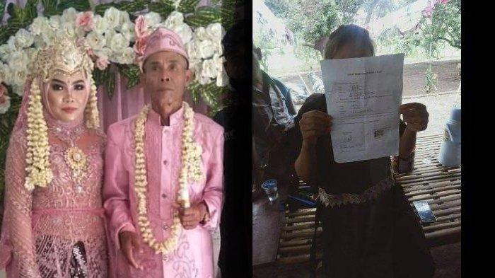 Abah Sarna talak cerai Noni, padaal baru 22 hari menikah