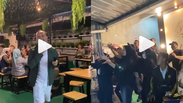 AKSI Abdul Rozak Ayah Ayu Ting Ting Sebar Uang Kertas Saat Nyanyi di Kafe, Para Karyawan Berebutan