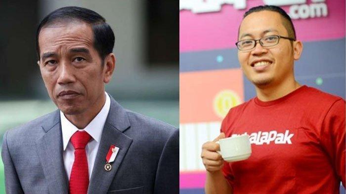 Achmad Zaky Temui Jokowi Pasca Tweet 'Presiden Baru', Ini Pesan Istana untuk Bos Bukalapak
