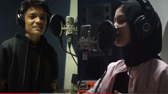 Adam dan Nabila rekaman lagu baru