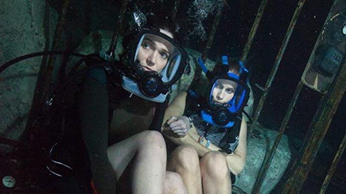 Sinopsis Film 47 Meters Down Bioskop Trans TV Malam Ini 19.30 WIB, Dua Gadis Terjebak di Dasar Laut