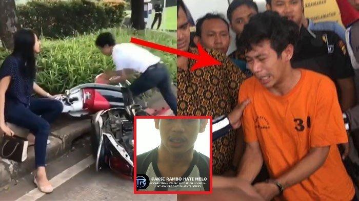 Di Balik Viral Aksi Rusak Motor Ditilang, Terungkap Kepahlawanan Adi Saputra Bikin Ibunya Pingsan!