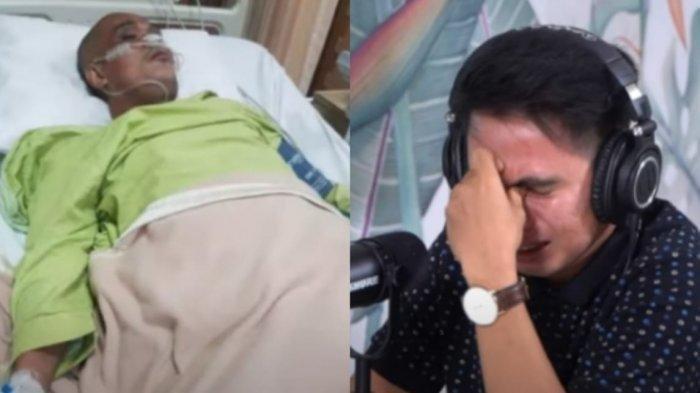 Adik Sapri Pantun nangis beber kondisi sang kakak di RS.