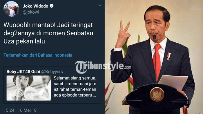 Ngetweet JKT48 Pakai Akun Presiden, Admin Twitter Jokowi Langsung Dipecat, Begini Kronologinya
