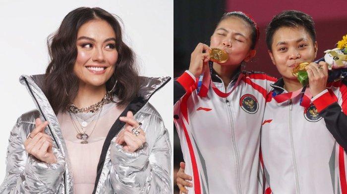 POPULER Greysia Polii Raih Medali Emas, Agnez Mo Bongkar Chat Manis dengan Sang Sahabat