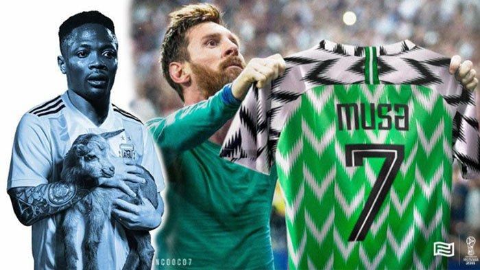 Ahmed Musa Jadi Pahlawan Nigeria Lawan Islandia, Muncul Meme Sindir Messi dan Buat Argentina Was-was