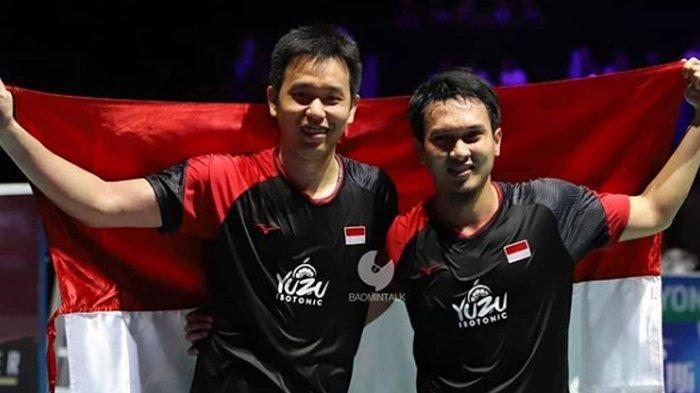 Bangga! Ganda Putra Ahsan/Hendra Juara Dunia, Simak Rekap Final Kejuaraan Dunia Badminton 2019