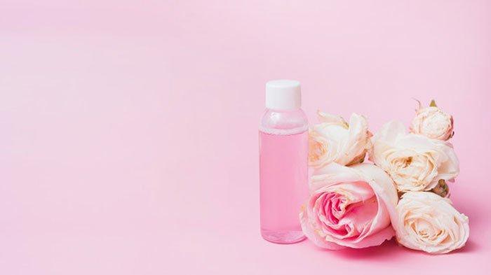 Air mawar untuk menghilangkan jerawat