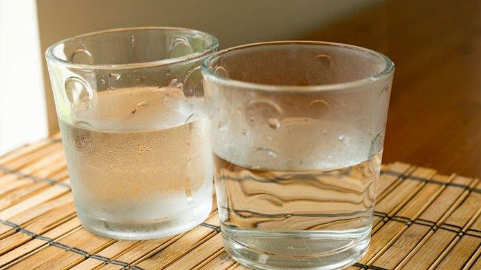 Air putih dingin dan hangat