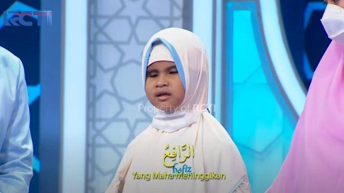 Airah bocah tuna netra peserta Hafiz Indonesia (YouTube RCTI)