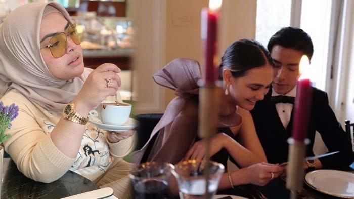 Adik Syahrini Ikut Bereaksi Saat Raffi Ahmad Pamerkan Kemesraan Luna Maya Bareng Ryochin di London