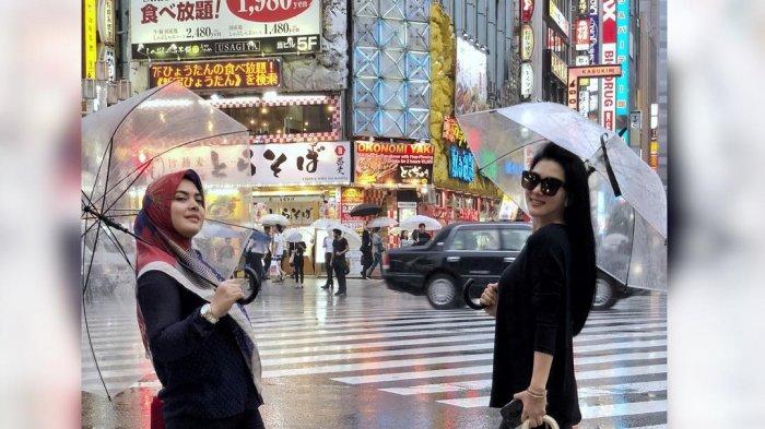 Terkuak Harga Tas Syahrini yang Ditenteng saat di Jepang, Bisa Mencapai Rp 1M Lebih, Fantastis!