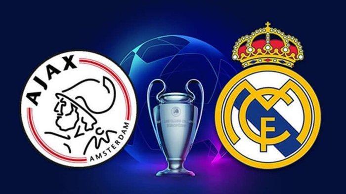 SESAAT LAGI - Link Live Streaming RCTI Ajax Vs Real Madrid 02.30 WIB Babak 16 Besar Liga Champions!