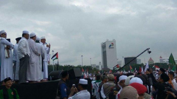 Beredar Video Detik-Detik Menteri Agama Disoraki Peserta Aksi Bela Palestina Saat Pidato, Ada Apa?