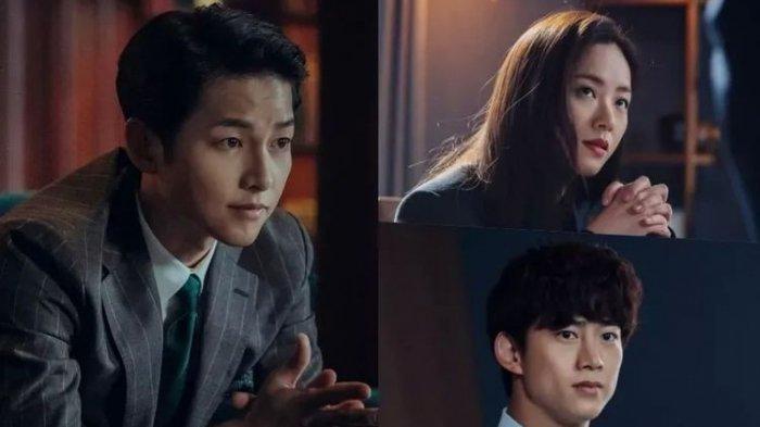 Akting Song Joong Ki di Drama Korea Vincenzo.