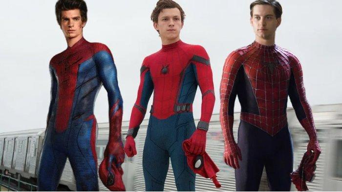 Aktor pemeran Spider-Man dari masa ke masa.