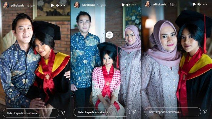POPULER Potret Kebersamaan Aldi Bragi dan Ikke Nurjanah Dampingi Siti Adira Kania Wisuda
