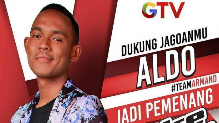 Aldo Longa, Jawara The Voice Indonesia