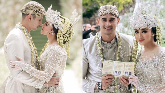 Ali Syakieb dan Margin Wieheerm resmi menikah