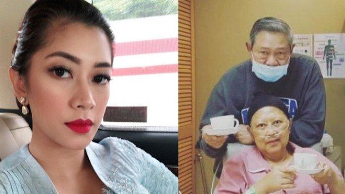 Kondisi Ani Yudhoyono Drop, Harus Didampingi Saat Jalan Agar Tak Jatuh, Lihat yang Dilakukan Cucunya