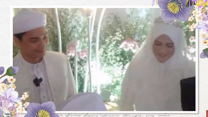 Alvin Faiz dan Henny Rahman menikah.