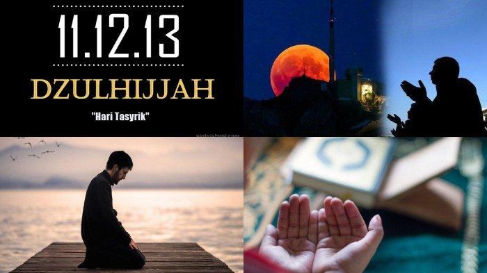 Idul Adha Berakhir Tibalah Hari Tasyrik, Meski Dilarang Puasa, Ada 4 Amalan yang Bisa Dilakukan