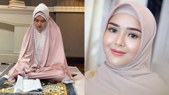 Cantik Kenakan Mukena, Amanda Manopo Tulis Doa Manis Selamat Ramadhan, Toleransinya Tuai Pujian