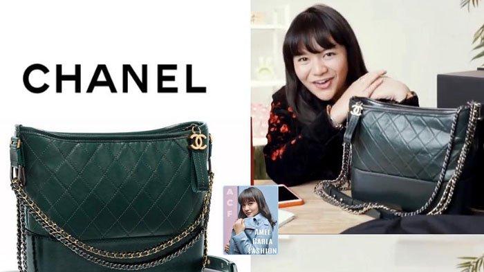 Bukti Kesuksesannya di Dunia Hiburan, Amel Carla Pun Koleksi Hobo Bag dengan Harga Fantastis