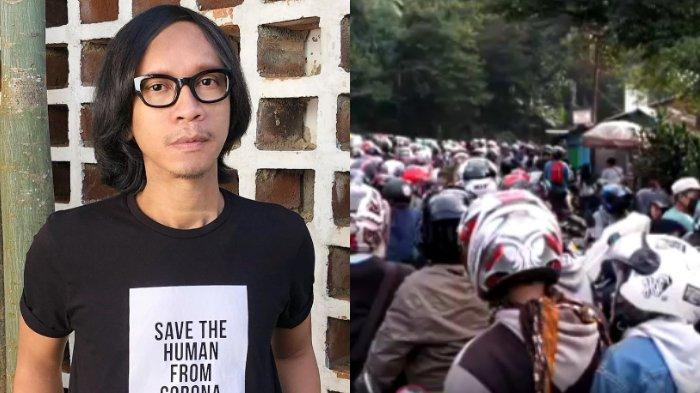 Miris Lihat Kemacetan di Kawasan Puncak, Aming: Yuk Berdoa untuk Indonesia yang Lebih Waras!