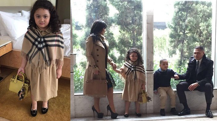 Baru Berusia 7 Tahun, Amora Lemos Pakai Outfit Super Mewah, Intip Kelucuan Higga Harga Fantastisnya!