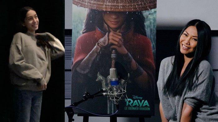 Anggun C Sasmi Bangga, Sang Putri Jadi Pengisi Suara Raya and The Last Dragon, Lihat Potretnya