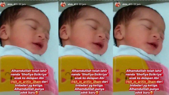 Bayinya Arifin Ilham Nangis Terus Sejak Ayah Meninggal, Hanya Diam Oleh Satu Benda Peninggalan Ini