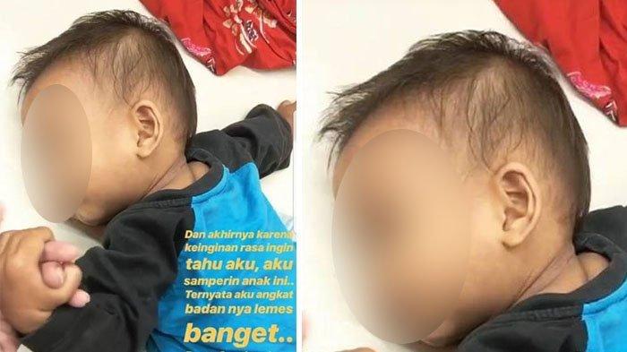 Bocah Ini Terbaring di Lantai, Saat Dipegang Tubuhnya Lemas Banget, Kisah di Baliknya Bikin Nangis!