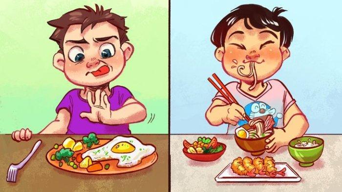 Anak Tidak Milih-milih Makanan