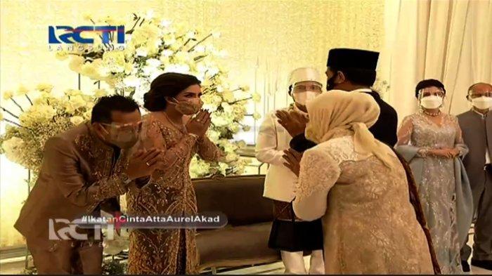 TERUNGKAP Rahasia Ashanty Sukses Undang Jokowi dan Prabowo di Pernikahan Atta & Aurel