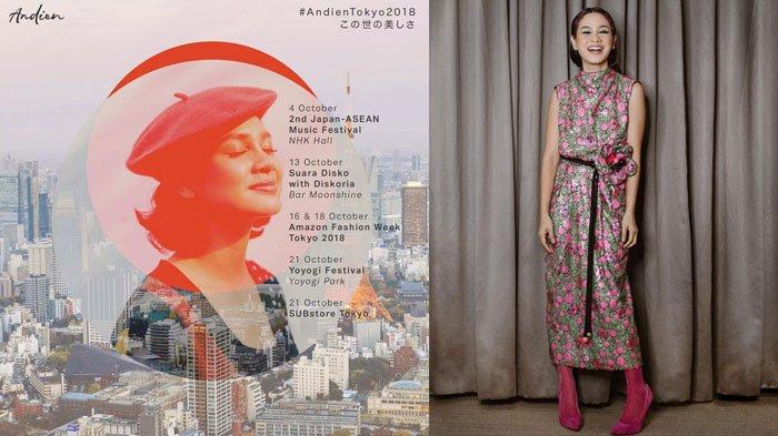 Tampil di Asean-JAPAN Music Festival 2018, Andien Aisyah Ungkap Rasa Bangga & Yuk Intip Gaya OOTDnya