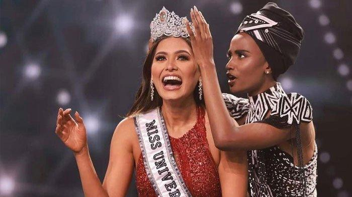 Sabet Juara Miss Universe 2020, Siapa Andrea Meza? Simak Profil & Fakta Menarik Perwakilan Meksiko