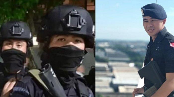 Fotonya Viral Karena Dikira WNA, Identitas Anggota Brimob Ini Terungkap, Polisi Tampan Asli Manado!
