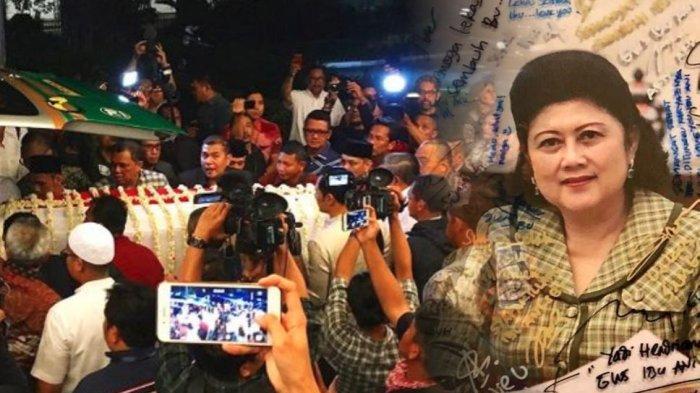 Jenazah Ani Yudhoyono dipulangkan ke tanah air menggunakan pesawat Hercules